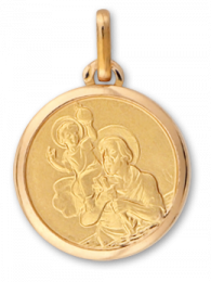Médaille Or St.Christophe