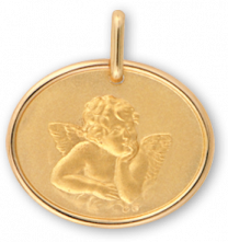 Médaille Or Ange