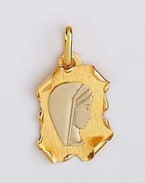 Medaille Or Vierge
