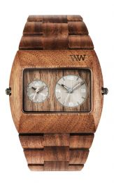 Montre WeWood Date Me  - Nut Rough Gun Gold