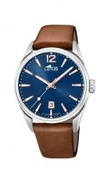 Montre Lotus azur Rose