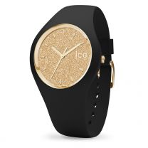 Montre Ice Watch glitter - Black Gold