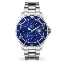 Montre Ice Watch steel - Blue cosmos silver