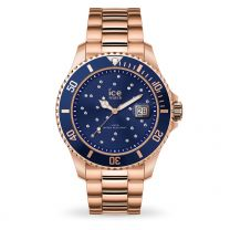 Montre Ice Watch steel - Blue cosmos rose-gold